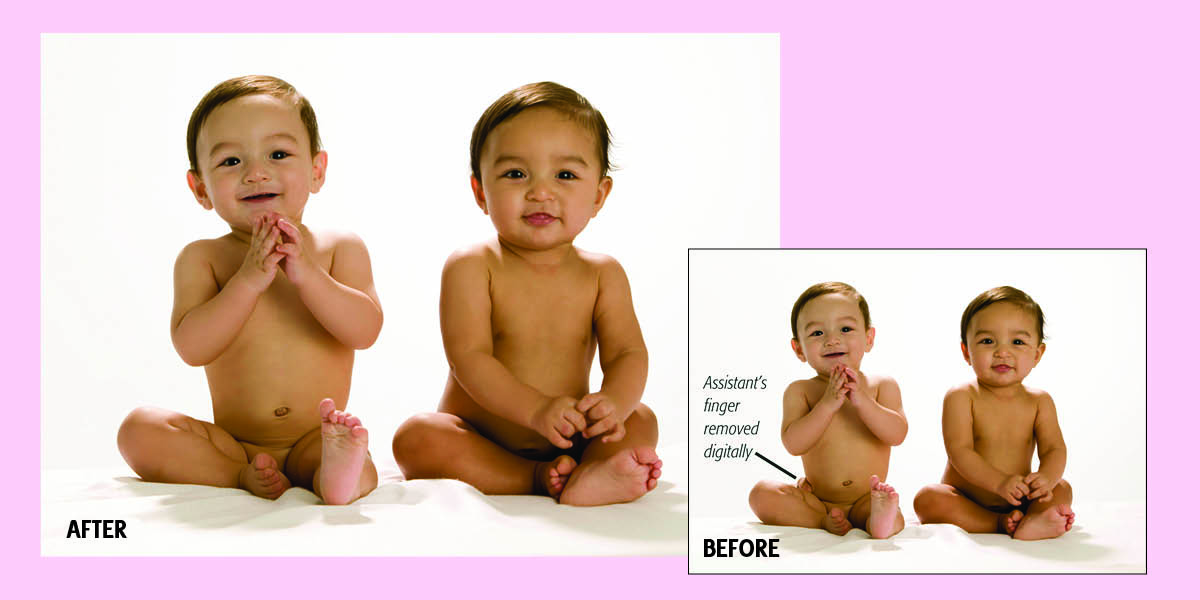 How to photograph babies with ease