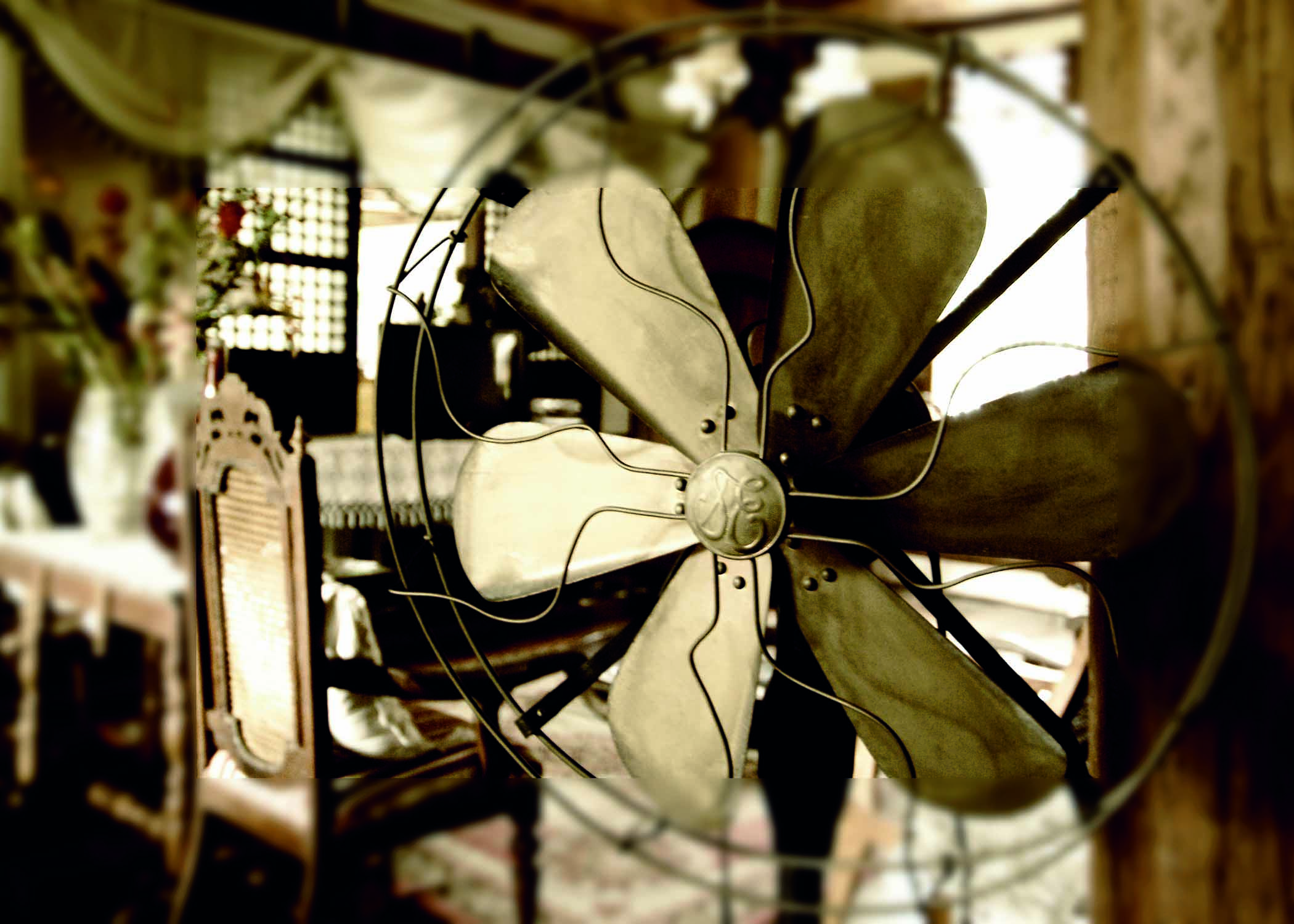 14 ( simple but with impact) vintage fan